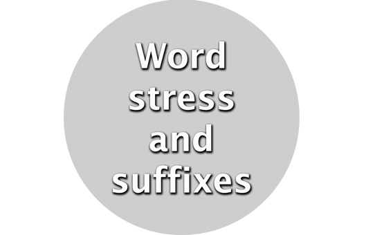 Wordstressandsuffixes